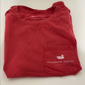 Southern Marsh Red T-Shirt   SIZE:M